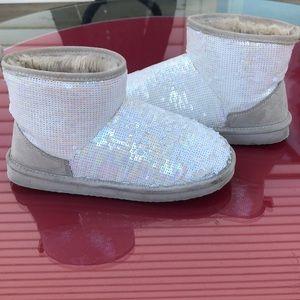 Victoria secret pink beautiful sequins boots